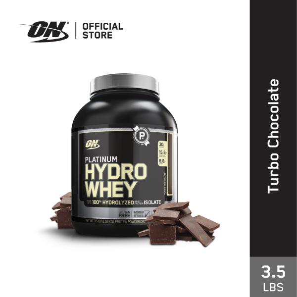 Buy Optimum Nutrition Platinum Hydro Whey Protein (3.5 lbs) - Turbo Chocolate Singapore