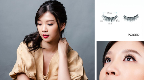 Buy [Design: POISED] The LashDresser Magnetic Lashes Singapore