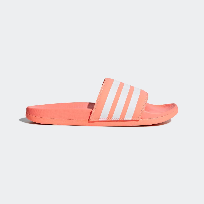 662b528432d2 adidas Adilette Cloudfoam Plus Women Stripes Slides B43528