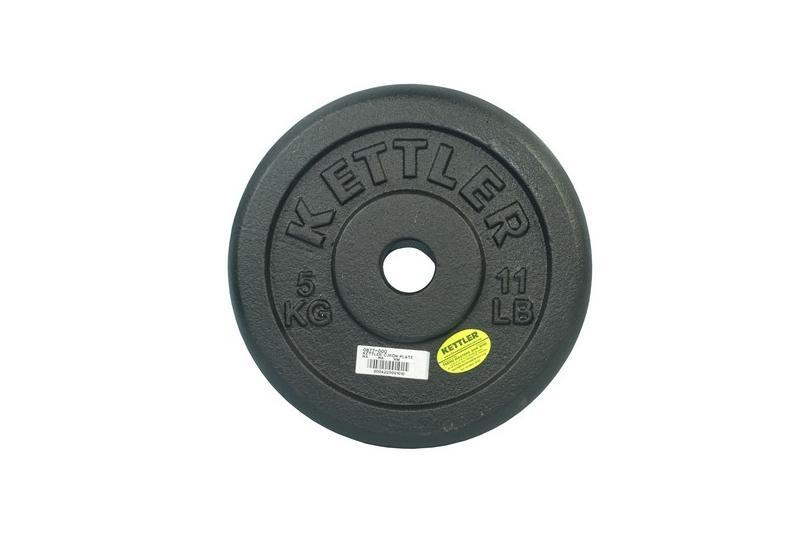 Kettler Kal 803020 Cast Iron Weight Plate (5 Kg) By Vito Art Of Fitness (capitaland Merchant).