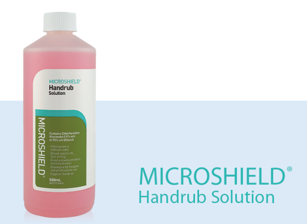 Buy ALCOHOL HAND SANITISER -MICROSHIELD HAND RUB Enriched with moisturer Singapore