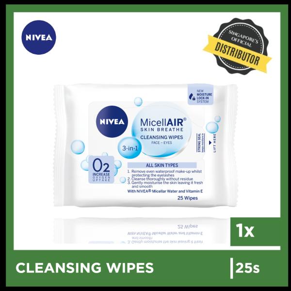 Buy [Nivea] Nivea Essential Micellar Wipes 25s  The Grocery Co -  Skincare Singapore