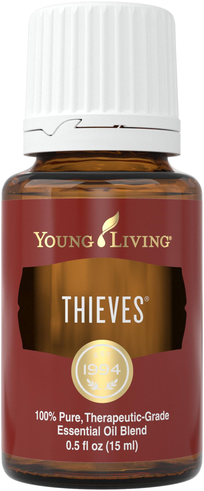 Young Living Thieves Essential Oil Blends 15ml