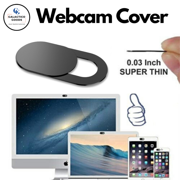 [SG Stock] Ultra-thin Sliding Webcam Cover ★ Work from Home Essential ★ Strong 3M Adhesive suitable for Laptop Desktop iPhone Handphone Camera Cover