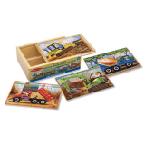 Purchase Melissa And Doug Construction Puzzles In A Box