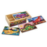 Buy Melissa And Doug Dinosaurs Puzzles In A Box Cheap Singapore