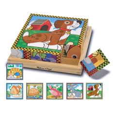 Buy Melissa And Doug Pets Cube Puzzle Melissa Doug Original