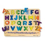 Sale Melissa And Doug Sound Puzzle Alphabet Melissa And Doug Original