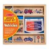 Price Comparisons Of Melissa And Doug Vehicle Stamp Set