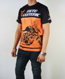 Men Male F1 Motorcycle Cycling T Shirt Jersey Quick Drying Short Sleev Shirt Top Coupon