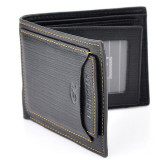 Price Men Pu Wallet Pockets Money Purse Id Credit Card Clutch Bifold Classic Black Oem China