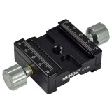 Mengs Dv 50 Dual Quick Release Clamp With 3 8 Scr*w Which Canadjustable Compatible With Arca Swiss Standard Quick Release Plateor Ball Head Intl Price