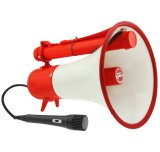 Compare Prices For Metal Body Megaphone With Handheld Microphone
