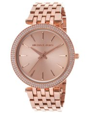 For Sale Michael Kors Darci Women S Rose Gold Stainless Steel Strap Watch Mk3192