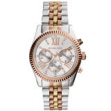 Price Michael Kors Lexington Chronograph Tri Tone Ladies Watch Mk5735 Michael Kors Online
