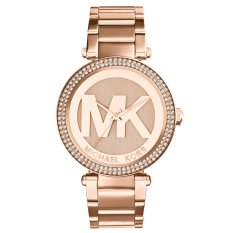 Recent Michael Kors Parker Dial Rose Gold Tone Ladies Watch Mk5865