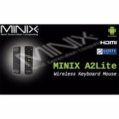 Sale Android Minix A2 Lite 2 4G Wireless Keyboard Mouse Online Singapore