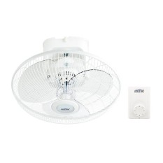 Great Deal Mistral Maf16F 16 Inch Auto Fan White