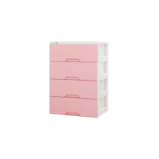 Blmg Modern Plus 4 Tier Drawers Pink Free Delivery Coupon