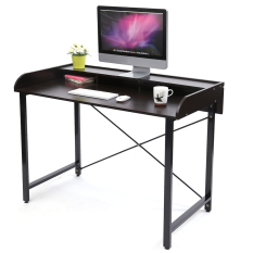Compare Price Blmg Mono Desk Walnut Free Delivery Oem On Singapore