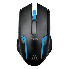 Alcatroz USB Optical 1000cpi Mouse ASIC 5 Blue