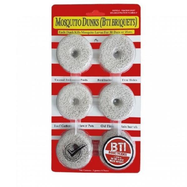 Mosquito Dunk Briquettes 6pcs