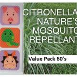 Best Price Mosquito Repellent Patch 60 S 100 Citronella Oil By Dzygo