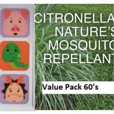 Mosquito Repellent Patch 60 S 100 Citronella Oil By Dzygo Best Buy