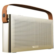 Price Nakamichi Gold Retro Design Bluetooth Speaker Gold Singapore