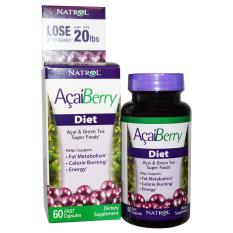 Natrol Acaiberry Diet, Acai And Green Tea Super Foods, 60 Fast Capsules By Jawstore Pte Ltd.