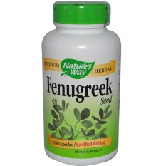 Buy Natures Way Fenugreek Seed 610Mg 180 Capsules Cheap On Singapore