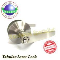 Price Nelon Tubular Door Lever Handle Silver Online Singapore