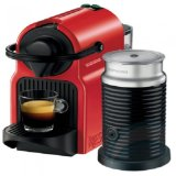 Who Sells Nespresso Inissia Coffee Machine With Milk Frother Red Bundle Cheap