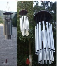 New Arrival 27 Tubes Church Wind Chimes Garden Bells Yard Hanging Decorations Sale