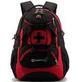 Sale New Brand Swissgear Waterproof Nylon15 Inches Laptop Swiss Men Backpack Computer Notebook Bag Red Intl China