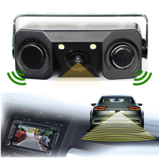 Shop For New Car Video Parking Sensor Rear Camera With 2 Sensor Video Display Indicator Bi Bi Alarm Car Reverse Sensor