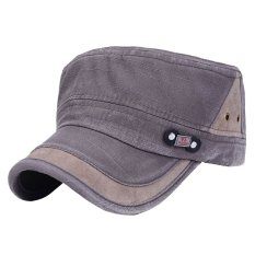 Price Comparisons For New Classic Plain Vintage Army Military Cadet Style Solid Washed Cotton Polo Style Baseball Cap Hat Adjustable Brown
