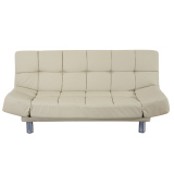 Blmg New Leatherette Sofabed Brown Free Delivery Shopping