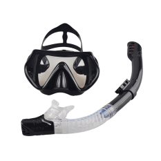 New Professional Scuba Diving Mask Snorkel Anti Fog Goggles Glasses Set Silicone Swimming Fishing Pool Equipment 6 Color 4 Compare Prices
