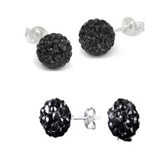 Buy New Rhinestone Crystal Popular G*rl Plated 925 Silver Earring Stud Earring Cool Online China