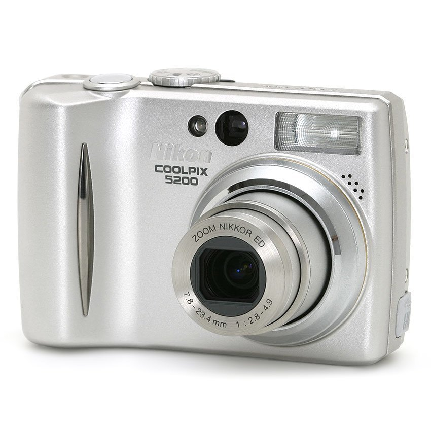 Nikon Coolpix 5200 5 1Mp 3X Optical Zoom Silver Lower Price