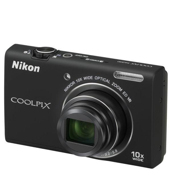 List Price Nikon Coolpix S6200 16M P 10X Zoom Digital Camera Black Refurbished By Nikon Nikon