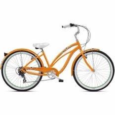 Nirve Cruiser Bicycle Matilda 7 Speed 16 Mango Tango Deal
