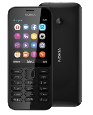 Lowest Price Nokia 222 Black