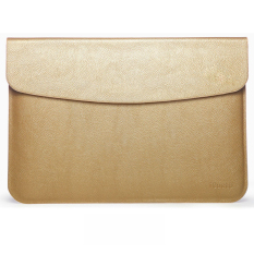 Buy Notebook Pu Leather Flap Sleeve Case Bag Pouch Cover For Macbook Air Retina 13 3 Laptop Gold Online China