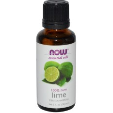 Now Foods, Essential Oils, 100% Pure Lime oil, 1 fl oz (30 ml)
