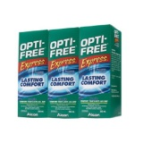 Review Opti Free Express Multi Purpose Disinfecting Solution 355Ml X 3 Opti Free