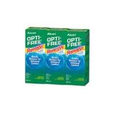 Best Deal Opti Free Replenish Multi Purpose Disinfecting Solution 300Ml X 3