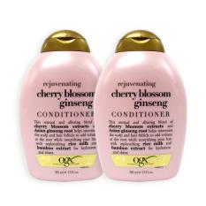 Retail Price Pack Of 2 Ogx Organix Rejuvenating Cherry Blossom Ginseng Conditioner 385Ml 5825
