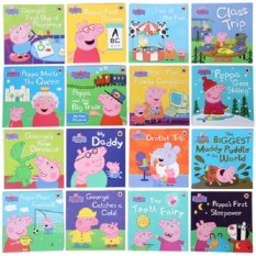 Buy Original 20 Different Ladybird Peppa Pig Picture Story Books 1 10 Years Early Education Enrichment English Peppapig Books Children Book Children Gift Young Children Book Bedtime Story Book Online